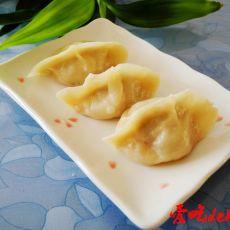 牛肉杏鲍菇烫面蒸饺