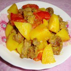 咖哩牛肉土豆的做法