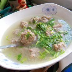 鲜美牛肉丸汤的做法
