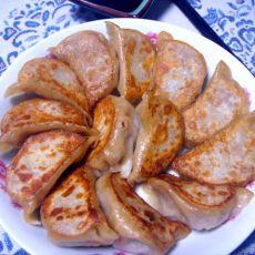 牛肉白菜锅贴的做法