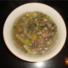 牛肉榨菜汤丝煲
