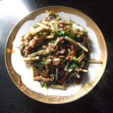 芹菜牛肉丝