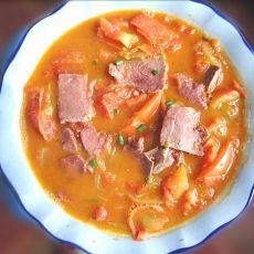 牛肉烧西红柿