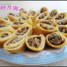 干豆腐牛肉卷