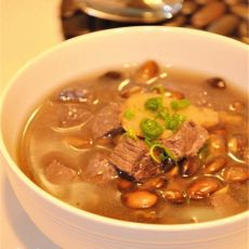 黑豆牛肉汤