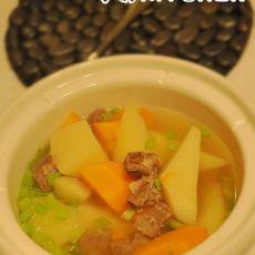 双蔬牛肉汤