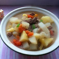 牛肉萝卜煲