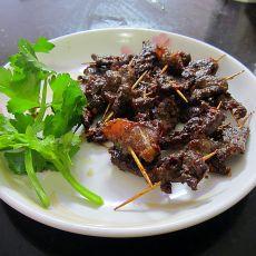 香辣牛肉串的做法