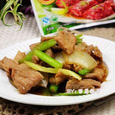 西芹洋葱肉片