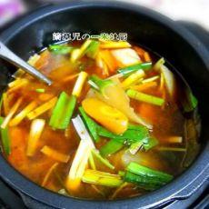 香辣萝卜炖牛肉的做法