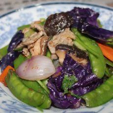 牛肉炒什菜