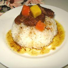 咖哩牛肉饭的做法