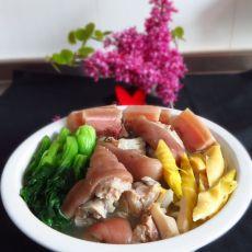 猪蹄竹笋汤