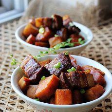 山芋红烧肉的做法