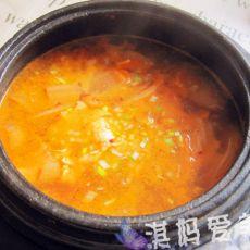 酸辣泡菜汤
