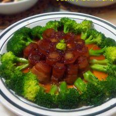 糖莲子肉卷