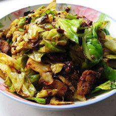 卷心菜回锅肉