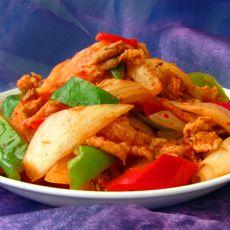 韩式辣白菜炒肉