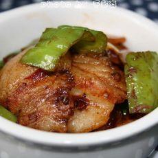青椒土豆炒回锅肉的做法