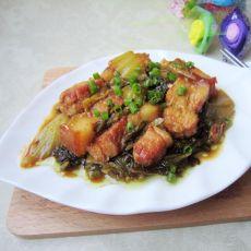 酸菜焖猪肉