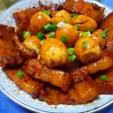酱香蛋卤肉的做法