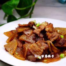 萝卜烧五花肉