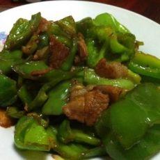 下饭菜――大辣椒炒肉