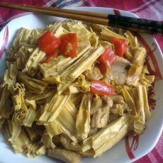 红烧豆腐皮