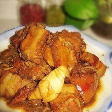 冬笋鲍鱼炖排骨五花肉的做法