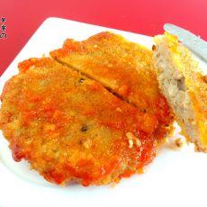 茄汁香菇猪肉扒