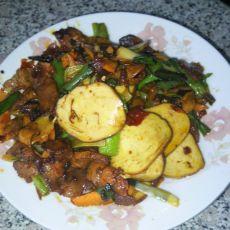 蒜香回锅肉