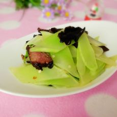青笋腊肉的做法