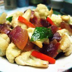 菜花炒腊肉