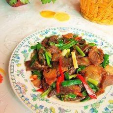 大蒜炒腊肉的做法