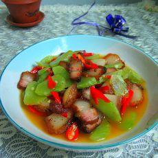 莴笋小炒肉的做法