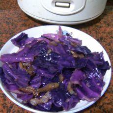 手撕紫包菜