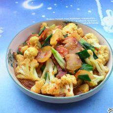 花菜焖腊肉
