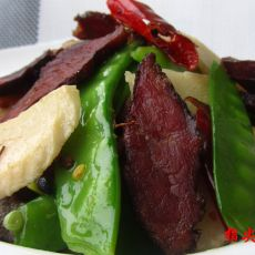 湘味腊肉荷兰豆