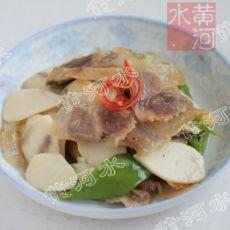 慈菇炒腊肉