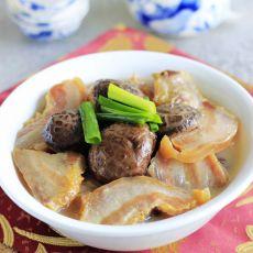 香菇炖腊肉