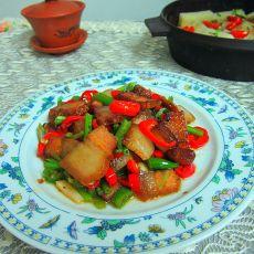 双椒炒腊肉