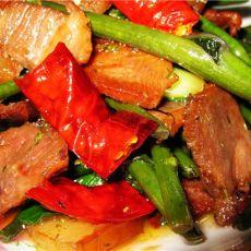 红菜苔炒腊肉