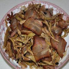 腊肉炒干豆角