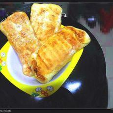 胡萝卜西瓜皮腊肉饼