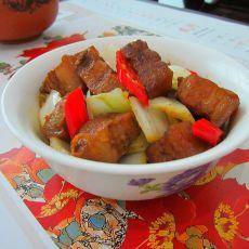 白菜烧腊肉
