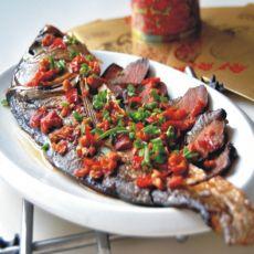 腊肉蒸鱼的做法