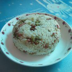 豇豆腊味焖饭