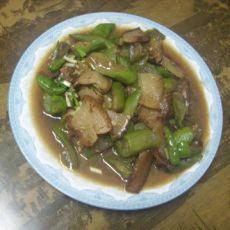 腊肉炒丝瓜
