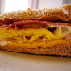 让快餐店靠边站--免灶台版火腿蛋三明治