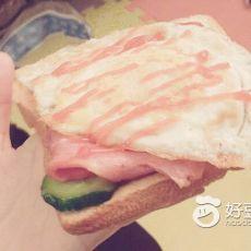 自制美味三明治